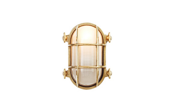 Oval Bulkhead Light, Small