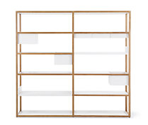 Lap Shelving System, Tall Frame