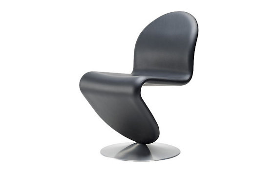 System 1-2-3 Dining Chair in Leather