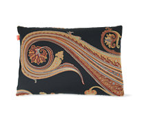 Maharam DWR Pillow in Massive Paisley (Night)