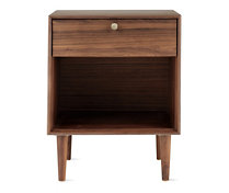 American Modern Side Table in Walnut