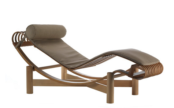Tokyo Outdoor Chaise Lounge - Bamboo