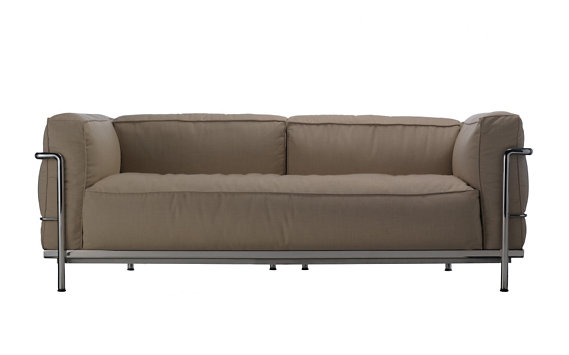 Outdoor LC3 Two-Seater Sofa - Sling Fabric