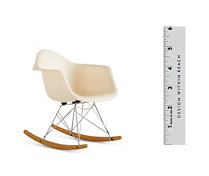 Vitra Miniatures Collection: Eames Molded Plastic Rocker (RAR)