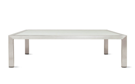 Angle Rectangular Coffee Table