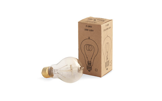 Edison Bulb with Quad Loop Filament