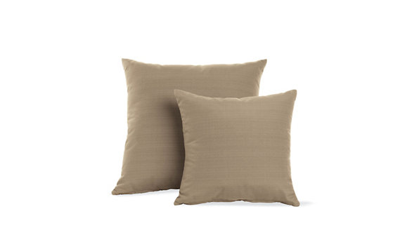 "18"" Outdoor Pillows in <i>Rove</i> Maharam Fabric"