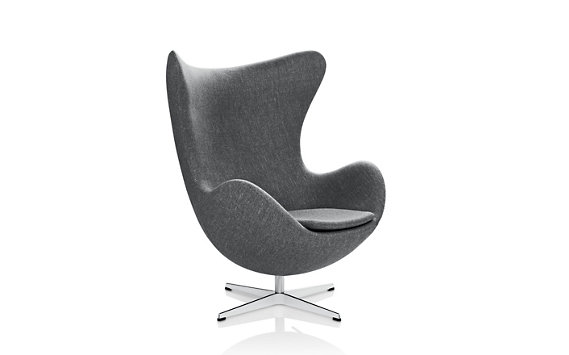 Egg™ Chair in Ducale Fabric