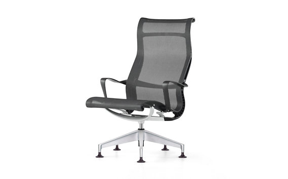 Setu Lounge Chair, Graphite Frame