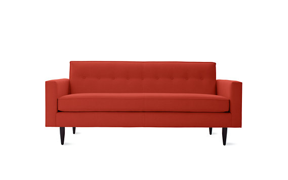 "Bantam 73"" Sofa in Basket Fabric"