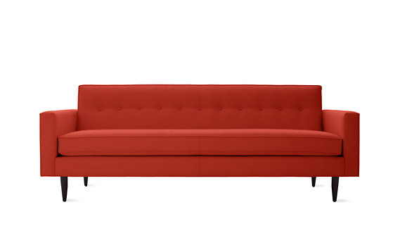 "Bantam 86"" Sofa in Basket Fabric"