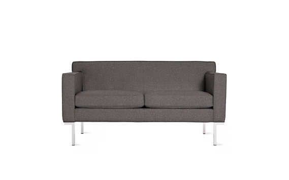 Theatre Two-Seater Sofa in Double Fabric
