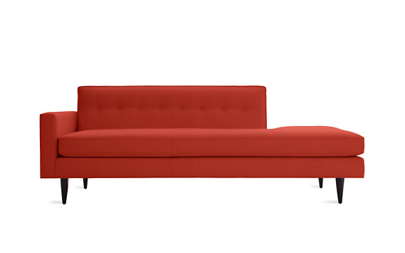 Bantam Studio Sofa, Left in Basket Fabric