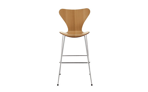 Series 7™ Barstool in Natural Veneer