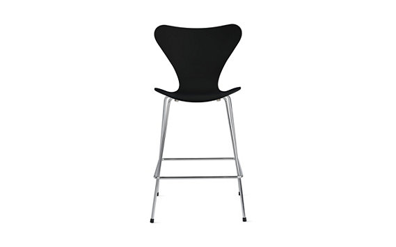 Series 7™ Counter Stool in Lacquered Veneer