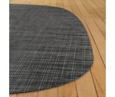 Abstract Lounge Weave Floor Mat, Small
