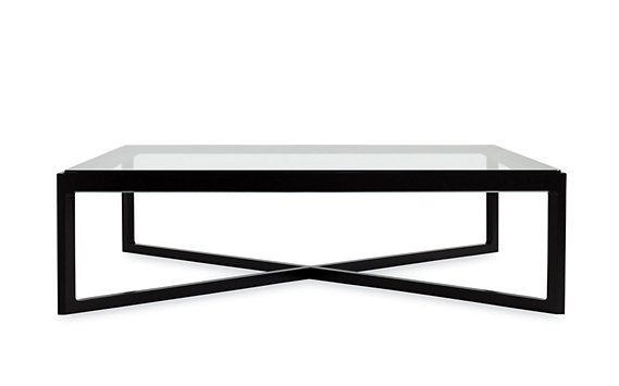 Krusin Coffee Table with Glass Tabletop