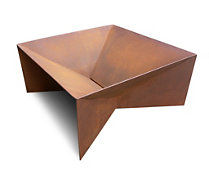 Small Plodes™ Geometric Fire Pit