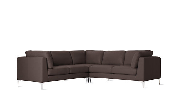 Albert Corner Sectional in Vienna Leather