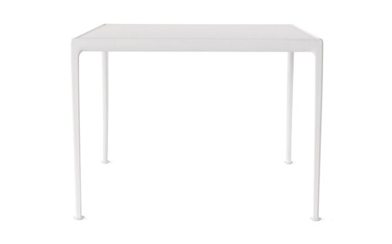 "1966 Collection Porcelain Dining Table, 38"" Square"