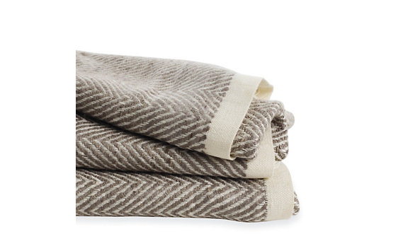 Silk Sawtooth Throw