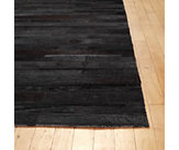 Thin Strip Cowhide Rug - 5.5 x 8.5