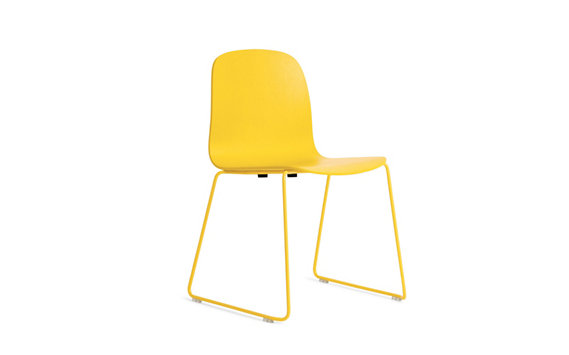 Visu Chair with Wire Base