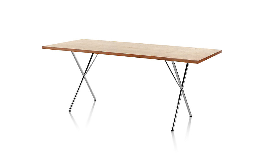 Nelson x leg table desk george nelson for herman miller for Design within reach desk
