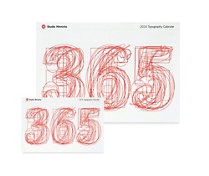 365 Typography Desktop Calendar, 2014 Edition