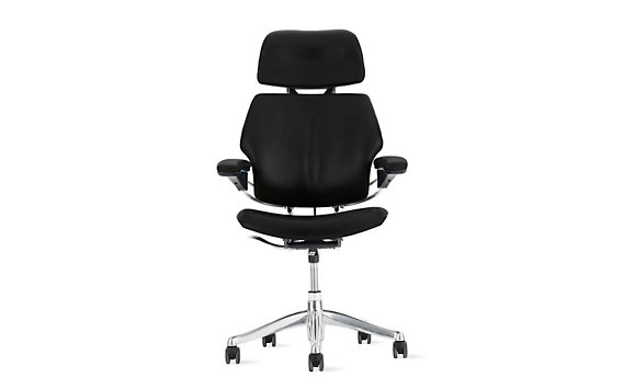 Freedom® Task Chair with Headrest in Vicenza Leather