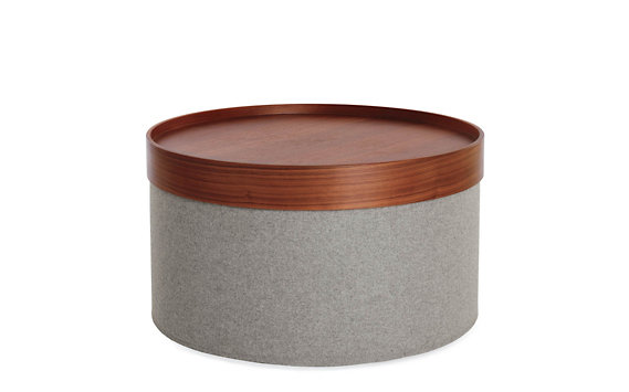 Drum Pouf, Wide