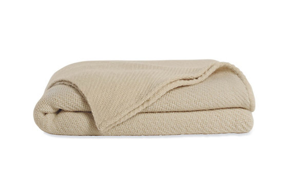 Twill Wool Blanket - Twin