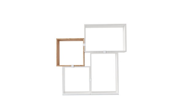 Stacked Shelving, Set of 4