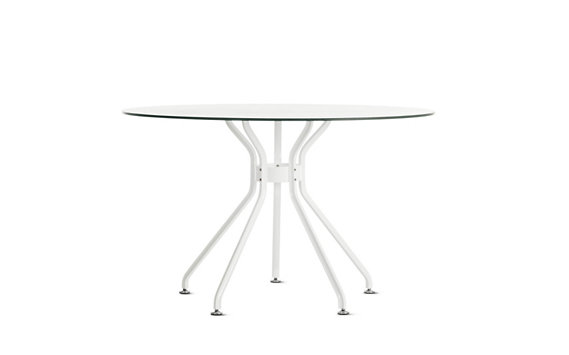 Lucca Dining Table with Umbrella Hole