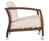 Malena Armchair in Basket Weave