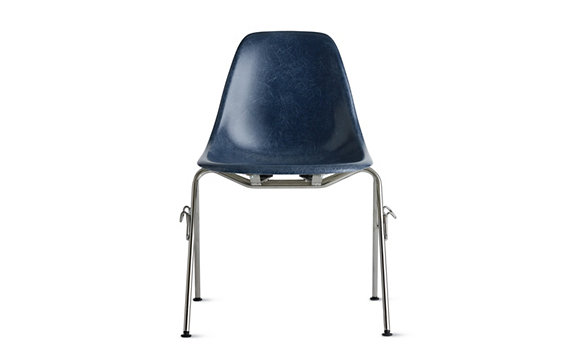 Eames 174 Molded Fiberglass Stacking Side Chair Dfss