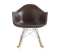 Eames Molded Fiberglass Rocker (RFAR), Chrome/Maple Base
