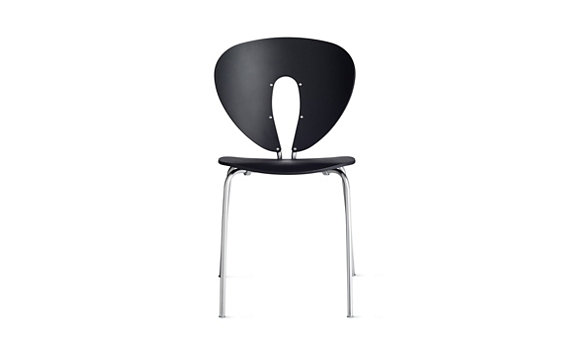 Globus Chair in Plastic with Stainless Frame