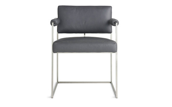 Milo Baughman 1188 Chair in Leather
