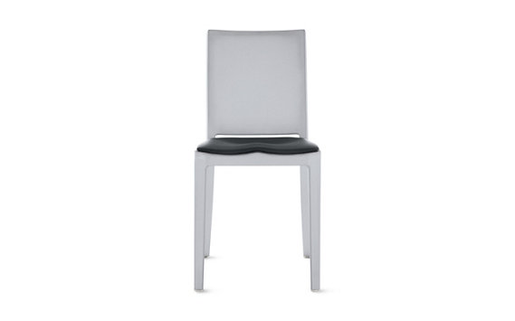 Hudson Chair with Seat Pad, Brushed