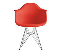 Eames® DAR, Chrome base