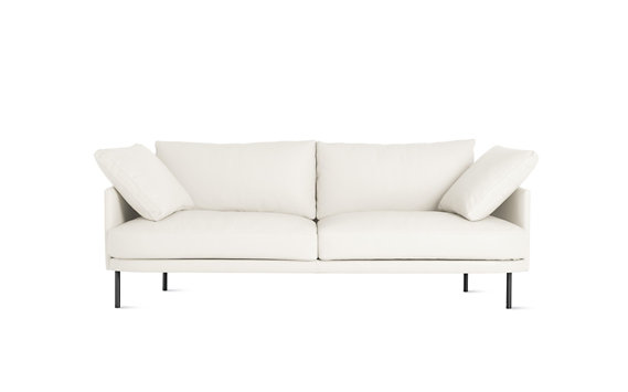 "Camber Sofa 81"", Encore Leather, Onyx Legs"