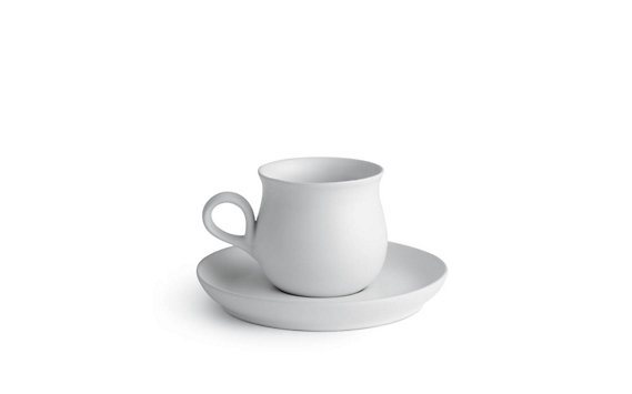 Granit Teacup and Saucer Set