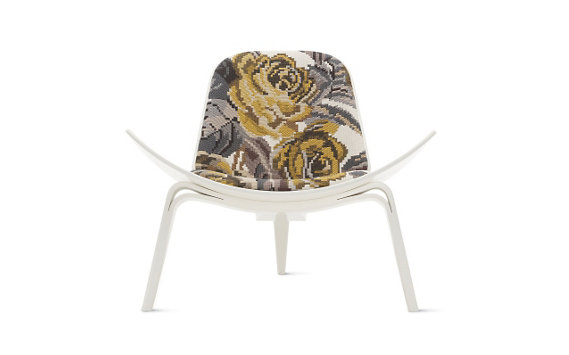 Shell Chair, Maharam Fabric