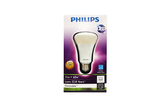 Philips 11W (60W) A19/E26 LED Light Bulb</span>