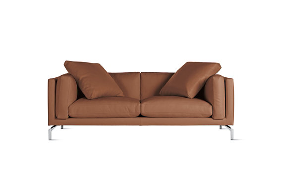 "Como 80"" Sofa in Leather"
