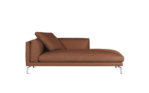 Como Chaise in Leather, Right