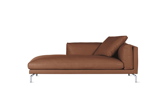 Como Chaise in Leather, Left