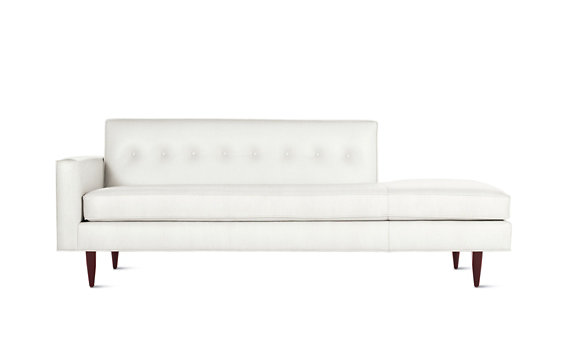 Bantam Studio Sofa in Leather, Left