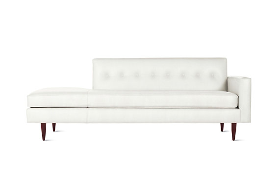 Bantam Studio Sofa in Leather, Right